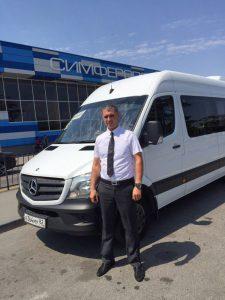 Аренда микроавтобуса с водителем Крым