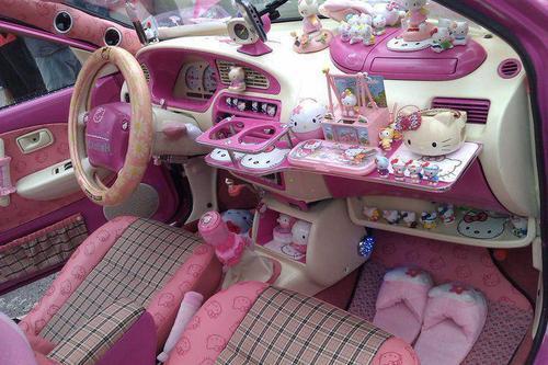 Дизайн авто для женщин для девочек